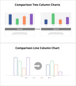 比較2列グラフ_10 slides