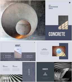 Concrete Business plan Templates PPT_00