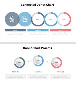 Connected Doughnut Chart_10 slides