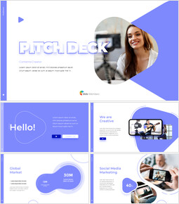 Contents Creator Company Pitch Deck Best PowerPoint Presentation_00