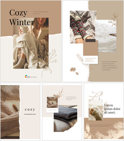 Cozy Winter Mood Vertical Layout PPT Design_00