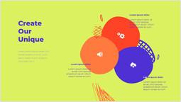 私たちのユニークなものを作成する デザイン_2 slides