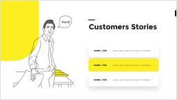 고객 사례 템플릿 디자인_2 slides