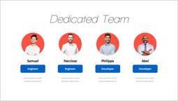 専用チームページスライド プレゼンテーションのスライド_1 slides