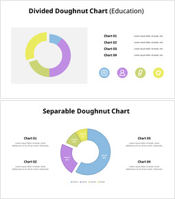Divided Donut Chart List_00