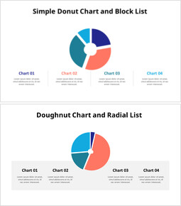 Divided Donut Chart with Bottom Text_00