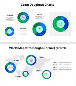 Elenco di idee del grafico a ciambella_8 slides