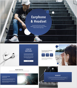 Earphone & Headset professional presentation_41 slides