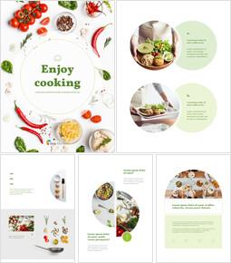 Enjoy Cooking Template Layout Google PowerPoint Presentation_00