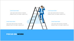 仕事に集中する PPTレイアウト_2 slides