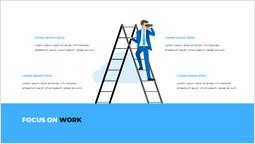 Concentrati sul lavoro Layout PPT_2 slides