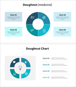 Four Division Donut Chart_00