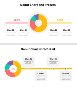 Four Parts Donut Chart Process_00