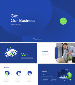 Get Our Business Pitch Deck professional presentation_00
