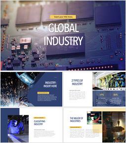 Global Indutry PowerPoint to Keynote_40 slides