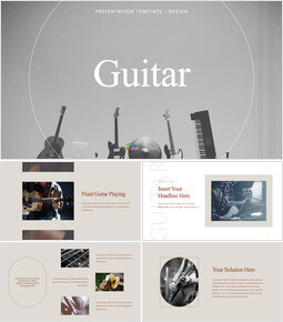 Guitar presentation slide design_00