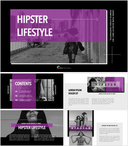 Hipster Lifestyle team presentation template_00