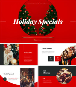 Holiday Specials Concept Template investor pitch presentation ppt_13 slides