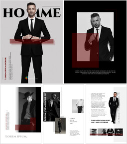 Homme Theme Desgin Template PowerPoint Templates_00