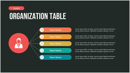Human infographic Organization Table Hierarchy PPT Design_00