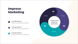 Migliora il marketing PPT diapositiva_2 slides