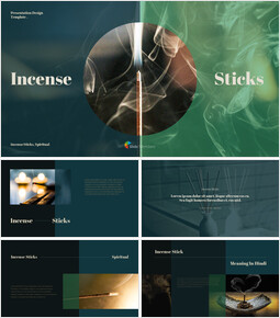 Incense Sticks PPT Format_40 slides