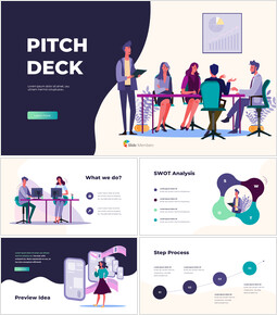 Investor Pitch Deck Template Animation Presentation powerpoint animation_00