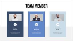 主要な従業員のシングルデッキ テンプレートページ_1 slides