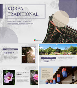 Korea Traditional template keynote free_40 slides