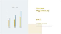 市場機会 パワーポイントデザイン_2 slides