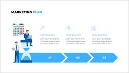 Piano di marketing Modelli_2 slides