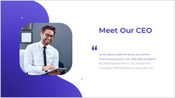 Meet Our CEO Single Template_2 slides