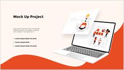 モックアッププロジェクト 簡単なスライド_2 slides