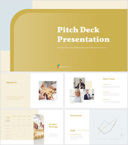 Modern Design Pitch Deck Template Theme Templates_00