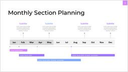 Pianificazione mensile delle sezioni Parezzo di presentazione_1 slides