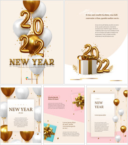 New Year Theme Design Package Templates PPT_00