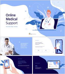 Online Medical Support Deck Template PPTX to Keynote_00