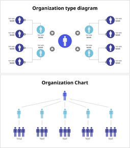 Modelli PowerPoint animati a tema grafico della gerarchia organizzativa_8 slides