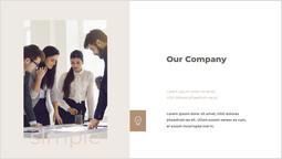 우리 회사 싱글 덱_2 slides