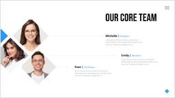 コアチームページテンプレート スライドのページ_1 slides