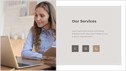 私たちのサービス テンプレート_2 slides