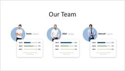 私たちのチームのスライドレイアウト シングルデッキ_1 slides