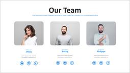 完璧なチームPPTデッキ テンプレート_1 slides