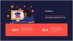 問題 テンプレートのデザイン_2 slides