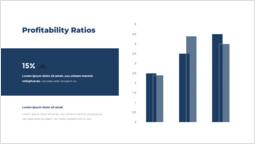 収益性比率 スライドのレイアウト_2 slides