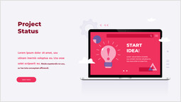 プロジェクトの状況 単一ページ_2 slides