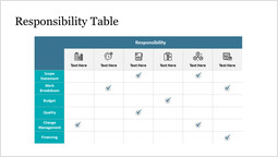 Responsibility Table Template_1 slides