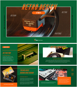 Retro PowerPoint Templates for Presentation_00