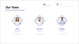 Rhombus Border Our team Design_1 slides