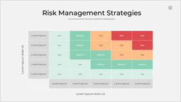 Strategie di gestione del rischio Mazzo singolo_1 slides